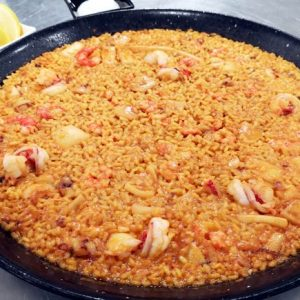arroz a banda en Madrid