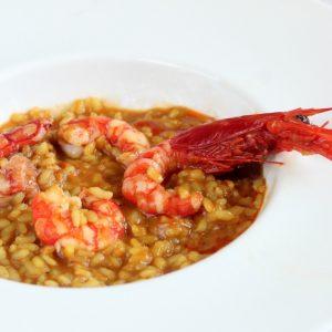 arroz meloso carabineros y gambas a domicilio en Madrid